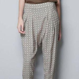 Zara Harem Trousers Pants